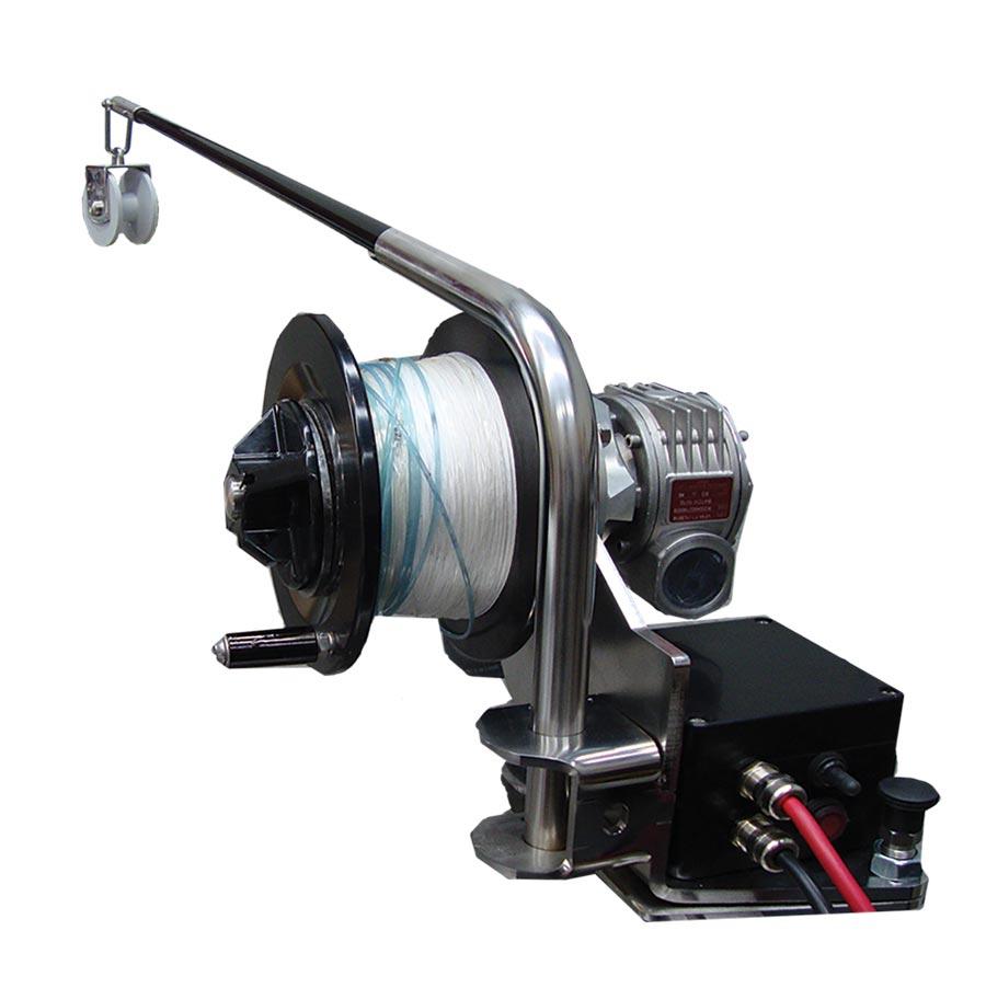 Deep Drop Fishing Winch and Pot Puller Combo